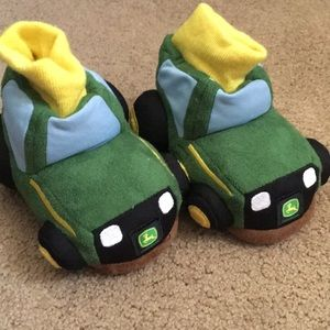 John Deere Tractor Slippers